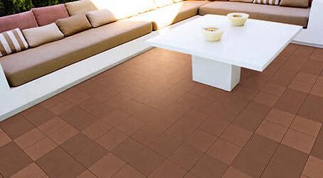 Квадратная плитка для балконов и террас paseo